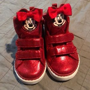 GAP Minnie Mouse Sneakers Toddler 8